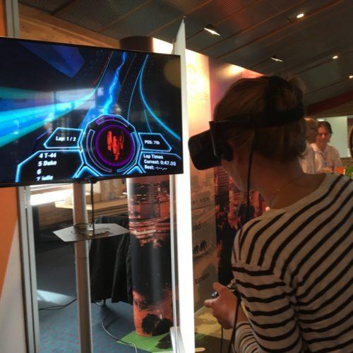 VR - Oculus Rift - Gaming - Radial-G - Beursstand
