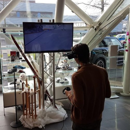 VR Ski Simulator