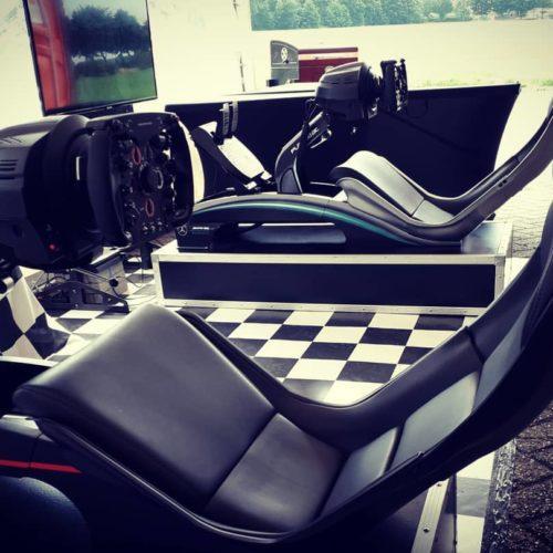 F1 Bar en F1 Simulators op locatie