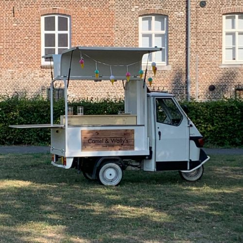 Piaggio Ape 50 Tap on Wheels